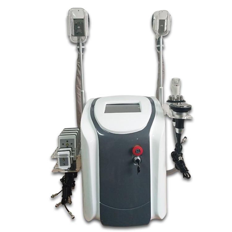 3 em 1 3 Portátil Alça Crio Máquina de Congelação de Gordura Crioterapia Crioterapia Cavitação Que Slimming a Máquina Portátil
