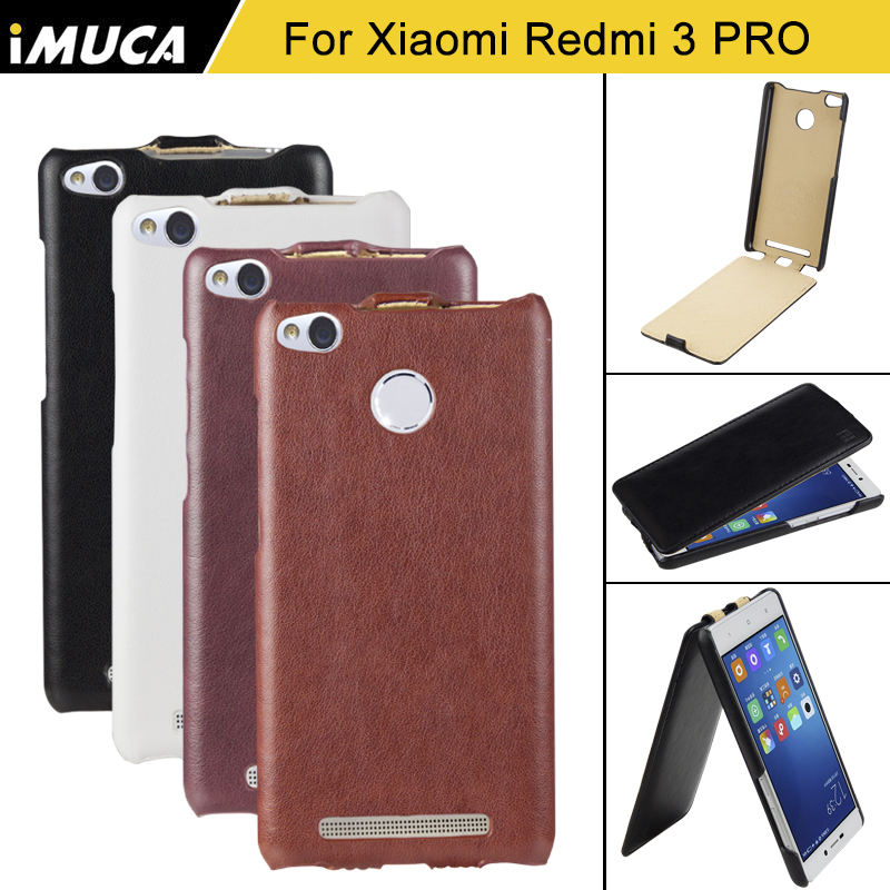 for xiaomi redmi 3s case redmi 3 pro cover for Xiaomi redmi 3 pro/redmi 3x flip case imuca cover mobile phone accessories