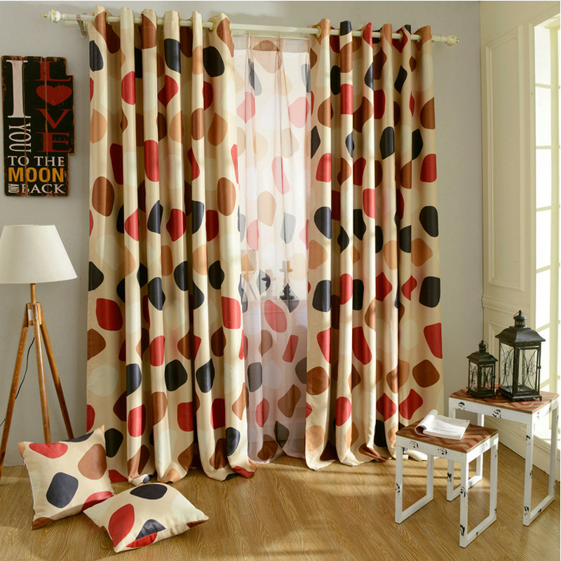 Wholesale Eco Friendly Blackout Curtains For Window Treatment/Drapes  Customized Ready Made Curtains Patio