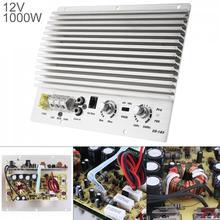 1000W 클래스 AB 디지털 2 채널 실버 알루미늄 합금 자동차 오디오 앰프 서브 우퍼 증폭기 범용 자동 오디오 전력 증폭기