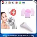 RF Cavitação Ultra-sônica LEVOU Corpo Emagrecimento Queimador de Gordura Massageador Dispositivo de Massagem Beleza + 1 pc rolo de gelo + 1 pcSilicone escova de lavagem