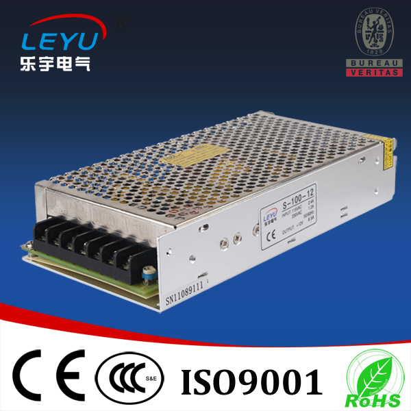 100% guarantee S-100-27 100w 27v ac dc single output power supply for led lighting 100