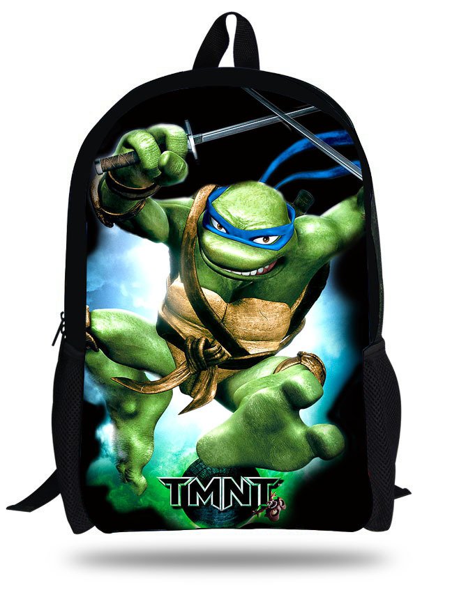 16 Inch Mochila Infantil Ninja Turtles Backpack For Age Boys Hero Children School Bags Kids Backpacks Online 7 13 In From Luggage