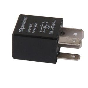 Image 1 - 1 Pcs DC 12V 30A 4 핀 SPST 전자 릴레이 자동차 보트 릴레이 자동차 제어/알람/경적/헤드 라이트 등 2.0x1.5x3.5cm