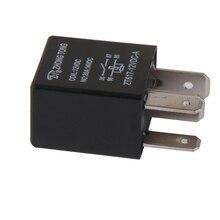 1 Uds DC 12V 30A 4 pines Electronic relé electrónico coche barco relé para el Control del automóvil/alarma/cuerno/Faro Etc 2.0x1.5x3.5cm