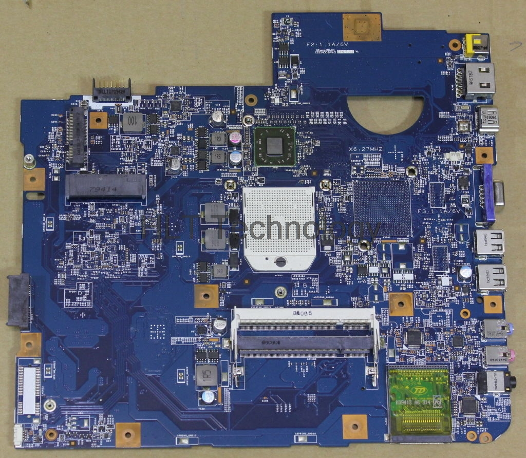 HOLYTIME Laptop <font><b>Motherboard</b></font> For <font><b>Acer</b></font> <font><b>aspire</b></font> <font><b>5542G</b></font> 5542 09230-1 JV50-TR MBPHA01001 48.4FN01.011 DDR2 Integrated 100% Tested ok image