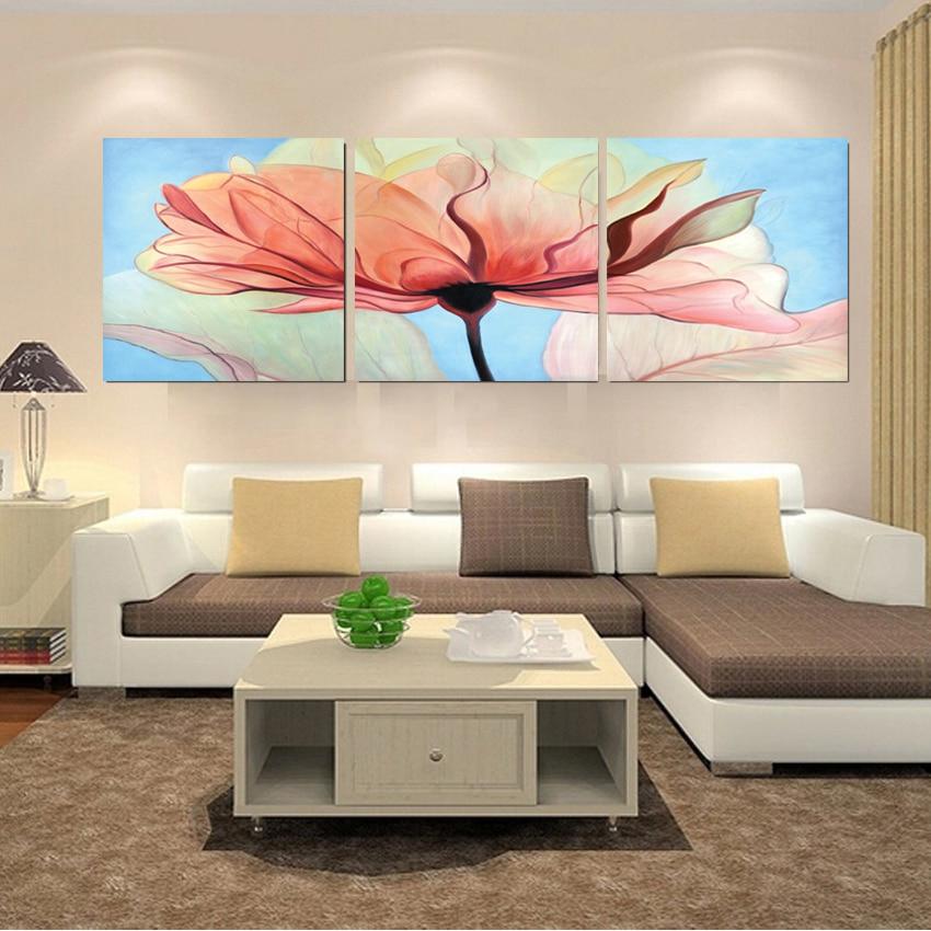 home decoration modern 3 piece wall decor
