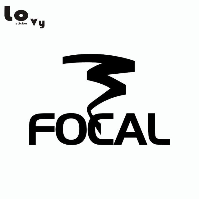 Focal audio car sticker audio emblems vinyl car decal
