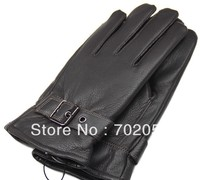 Mens Real Leather Gloves Leather Lambskin GLOVE Gift Accessory High Quality 12pair Lot 3158