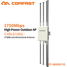 10pcs Comfast 5.8G 1-3KM Bridge Outdoor Wifi Repeater Extender WDS Access Point