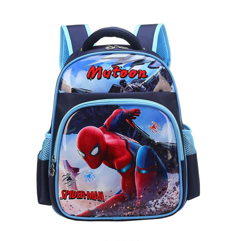 Children School Bags Thopedic Schoolbag Kids Backpacks Spiderman School Backpack Boys Primary School Backpack Sac Enfant
