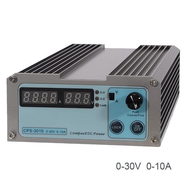 CPS-3010 0-30 V 0-10A Compact numérique alimentation cc réglable 110 V/220 V AU/EU/US/UK Plug