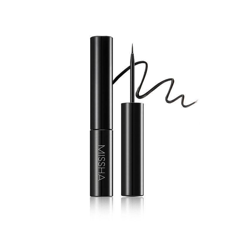 MISSHA Flüssigkeit Sharp Liner 6g Schwarz Lang Anhaltende Flüssigkeit Eye Liner Bleistift Wasserdicht Eyeliner Make-Up-Tools Korea Kosmetik