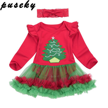 Baby 2018 Christmas Xmas Tree Dress
