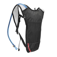 2L Unisex Bag Marathon Hydration Vest Pack 2L Water Bag Breathable Outdoor Cycling Hiking Hydration Accessories