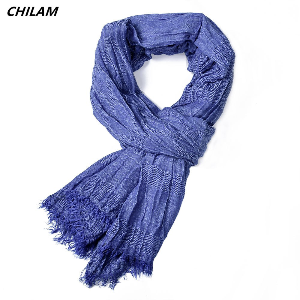 Provided 2019 New Spring Hot Men Scarf Fashion Shawls Wraps Winter Solid Plain Weave Tasstel Long Wild Accessories Scarves For Gentleman Apparel Accessories