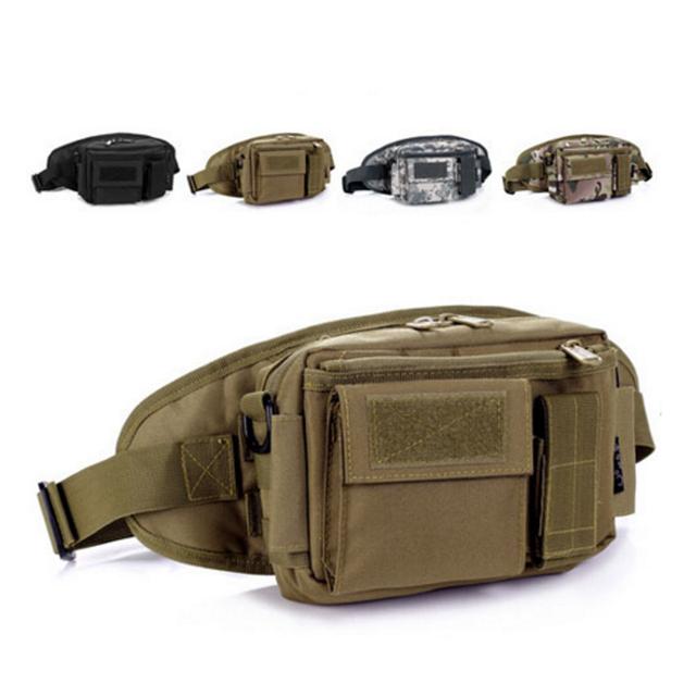 EUA Militar Heavy Duty Waterproof Adiantamento Defesa Táticas Caminhadas Ultra-light Faixa cinto de Dinheiro + pacote de Cintura + Ombro saco