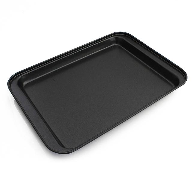 Rectangle Stainless Steele Pizza Pan For Baking Inserts Wedding Cake Mold Pie Bread Loaf Microwave