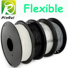 Черный цвет 1.75 мм гибкой нити высокое качество impressora 3D Пластиковые Нити хорошее удлинение ТПУ PLA-волокно