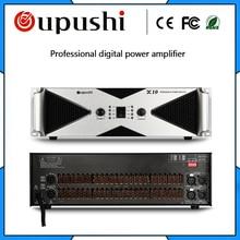 OUPUSHI X10 2000 w Super performance de palco Conferência amplificador amplificador de áudio amplificador de potência profissional amplificador KTV Karaoke
