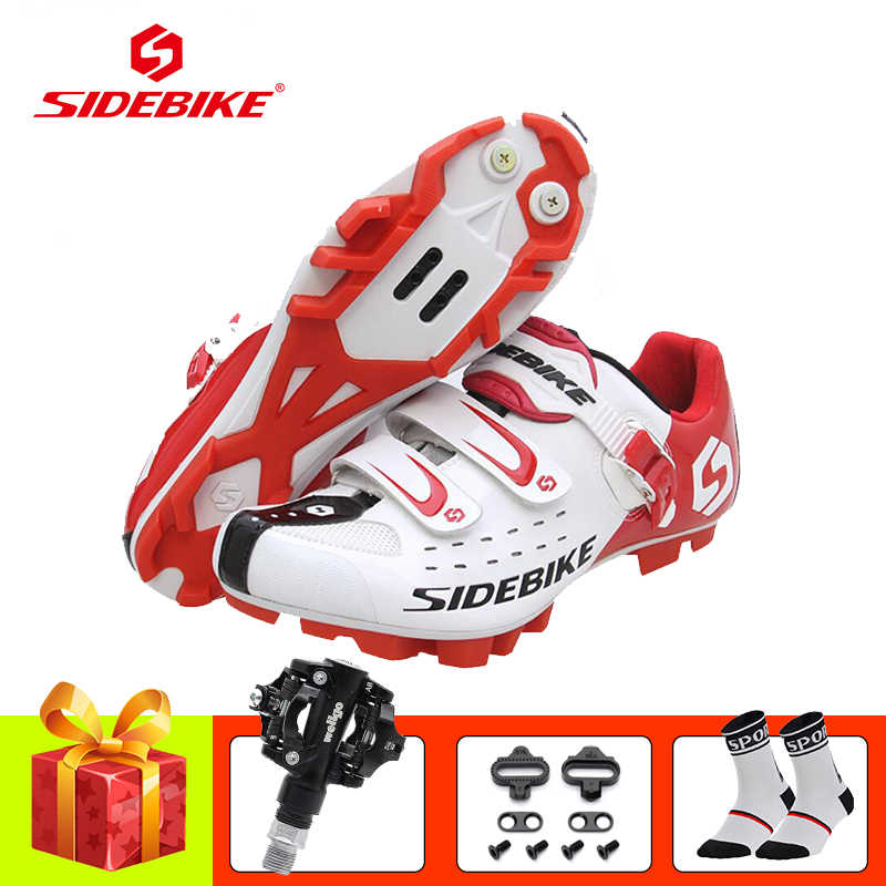 SIDEBIKE cycling shoes sapatilha ciclismo mtb bicicleta SPD pedals 2019 Men women self-locking -breathable cycling bike sneakers