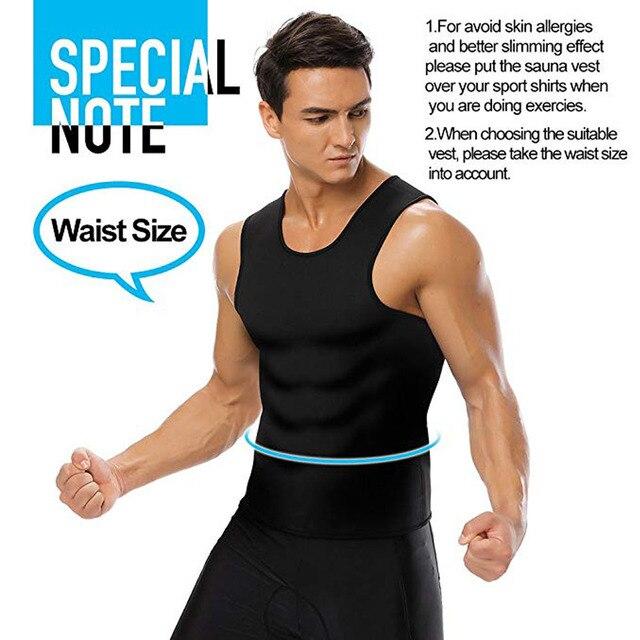 HEYME Men Sweat Neoprene Body Shaper Slimming Waist Trainer Cincher Slimming Wraps Fat Burning Weight Loss Slimming Belt 3