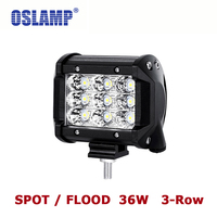 Oslamp 36W 4 CREE Chips Flood Spot LED Work Light 12V 24V 6000K Led Auto Lamp