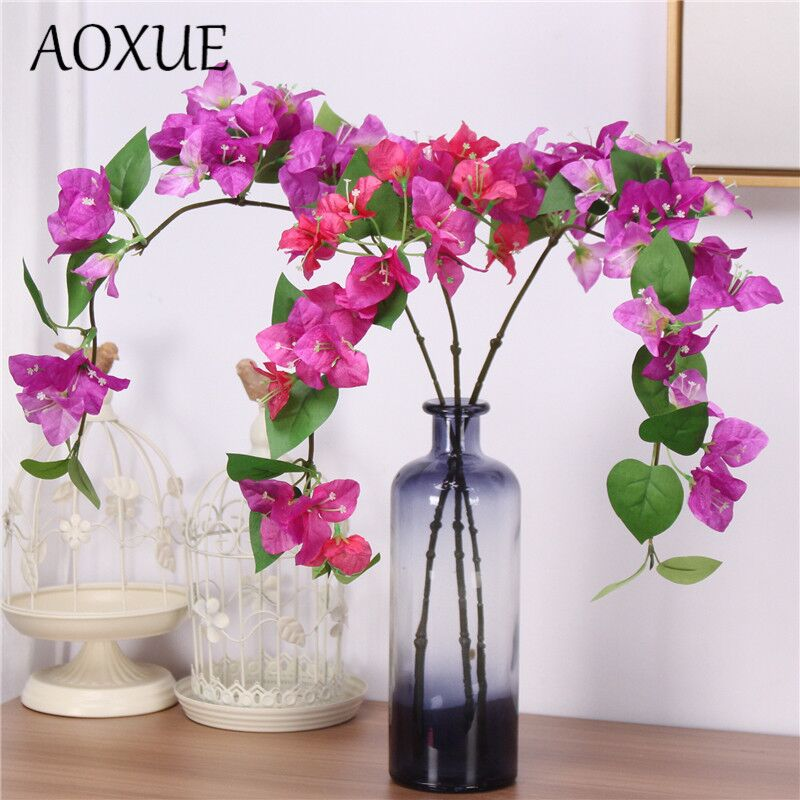 Fake Flower Photography Decoration Wedding Single-Bougainvillea 78cm Home Landscaping