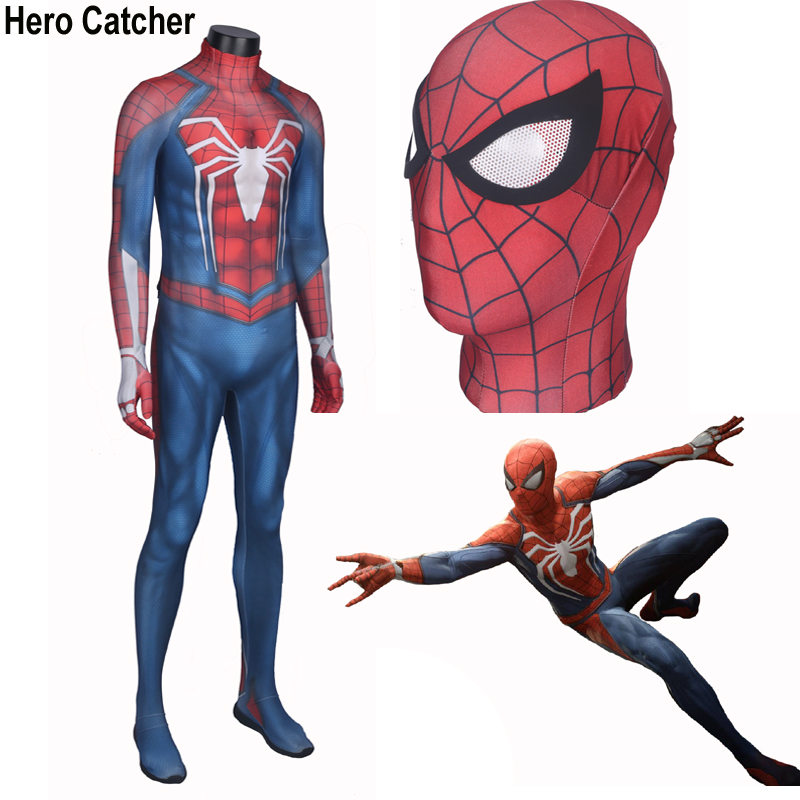 Hero Catcher High Quality New Insomniac Spider Man Costume Insomniac Spider Man Suit Newest Spiderman Suit