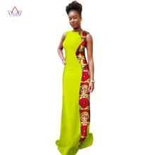 Plus Size summer dresses women 2017 traditional african fashion Clothing  Africa Wax Dashiki Slim Cut Sexy cotton dress WY1351 faffff4a1aea