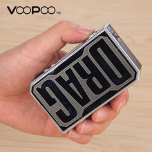 Original VOOPOO DRAG 157W TC Box MOD Temperature Control E Cigarette 157W 18650 box mod Vape Pro 0.05-3.0 Coil