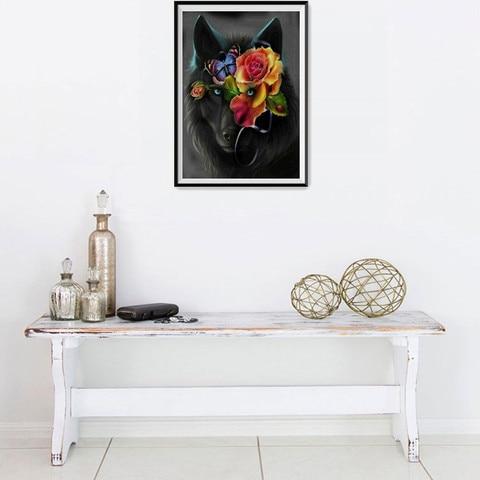 Dropshipping 5D DIY Diamond Painting Embroidery Part Round  Diamond Home Decor Gift Multan