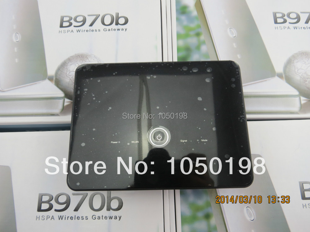 Free shipping Huawei B970 Original 3G wireless router unlocked HSDPA WIFI router vodafone huawei hg556a adsl2 3g wireless voip router