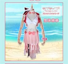 Lovelive Sunshine Aqours New Dress SIC12 Tsushima Yoshiko Swimming suit Cosplay Costume All Member for Full Set full set love live aqours cosplay costume lovelive sunshine dreamer tsushima yoshiko all member cosplay dress