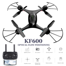 hot deal buy kf600 drones with camera hd juguetes dron 720p gesture shooting quadrocopter with camera drone fpv quadcopter rc helicopter