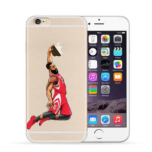 1249bb57c Dunk Phone Case For iphone 7 7 Plus 6 6 S Plus 5 5S SE James Harden 13 Soft  TPU Back
