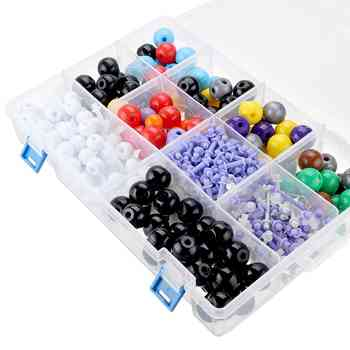 463Pcs Chemical Set Model Molecular Structure Model kit and Organic Chemistry Atom Bonds Medical Students Use Chemical Club