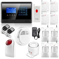 Safearmed Touch Keypad Wireless GSM Home Security Burglar Alarm System Auto Dialing Dialer