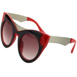 Image 1 - Солнцезащитные очки «кошачий глаз» женские, винтажные брендовые дизайнерские Роскошные солнечные очки в стиле ретро