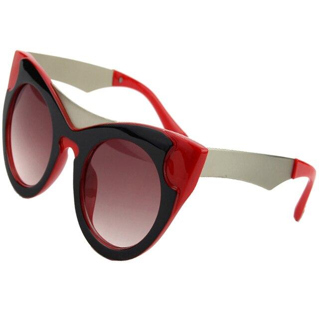 Солнцезащитные очки «кошачий глаз» женские, винтажные брендовые дизайнерские Роскошные солнечные очки в стиле ретро