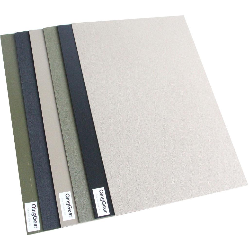 6pcs/lot Kydex Sheet For DIY Knife Sheath Holster Tool Parts 1.5mm Black Sand Army Green