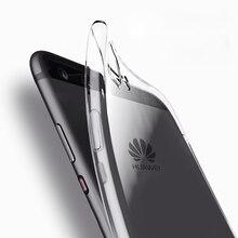 TPU Clear Case For Huawei mate 10 lite pro mate9 Huawei p9 lite mini y7 prime p9 p10 lite plus soft Gel phone cases cover fundas