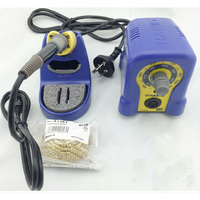 HOT SALE 220V HAKKO FX 888 Fx888 888 Solder Soldering Iron Station With 10 Free Tips