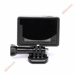 Image 5 - WILTEEXS camera Accessories Border Frame Mount Protective Housing Case Cover For SJCAM SJ4000 Sport Action cam