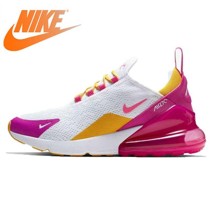 الأصلي أصيلة نايك الهواء ماكس 270 المرأة احذية الجري في الهواء الطلق أحذية رياضية تنفس مصمم رياضي 2019 وصول CI1963-166