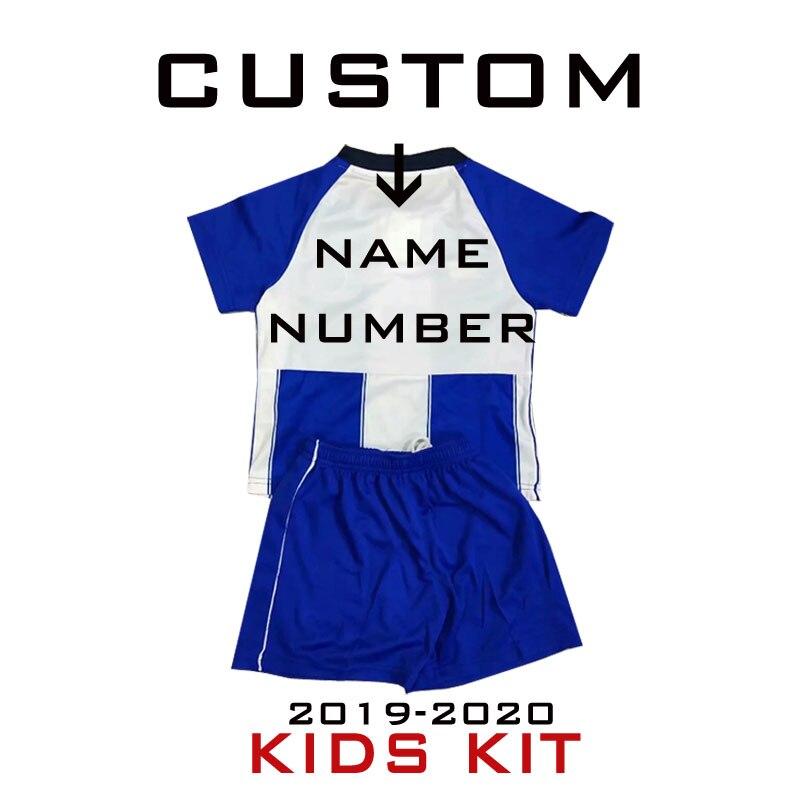 2020 PORTO Adult HOME Man Soccer Tee Short Sleeve T-Shirts Top Shirt Kids Child Tee +Shorts Set BRAHIMI ABOUBAKAR MAREGA TELLES