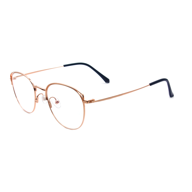 Reven Jate 80117 Full Rim Alloy Metal Eyeglasses frame for Men and Women Optical Eyewear Glasses Frame 4 Colors in Men 39 s Eyewear Frames from Apparel Accessories