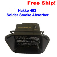 Hot Selling 220V Hakko 493 Solder Smoke Absorber ESD Fume Extractor 3 Pcs Free Activated Carbon