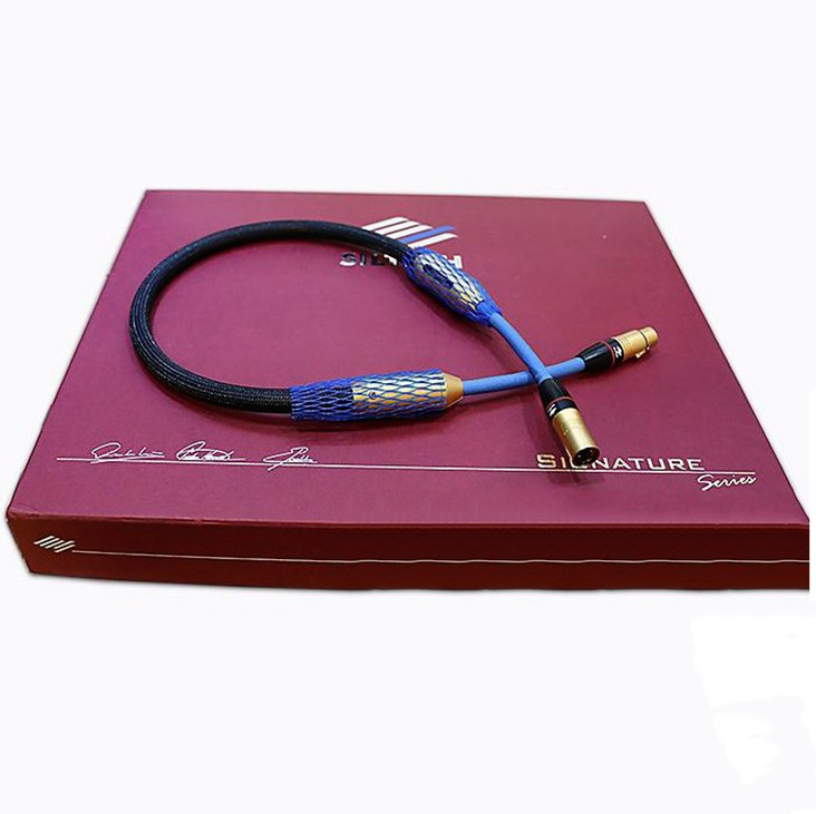 G7 Golden Ridge II 110 Ohm XLR balance Coaxial Digital interconnect cable audiophile extension cable golden eagle ii 75 ohm digital audio cable hifi xlr digital coaxial cable original box