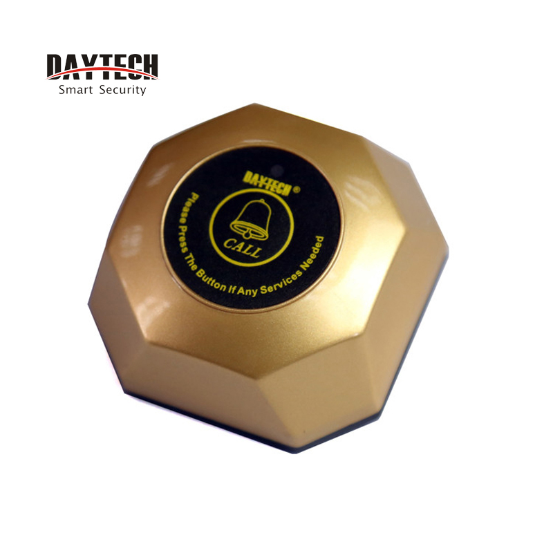 Daytech Wireless Calling System Call Button Wrist Watch Caregiver Pager Restaurant Pager Service System все цены